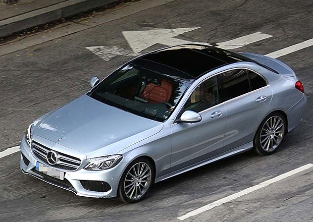 Mercedes-Benz C W205: Nová generace poprvé bez maskování
