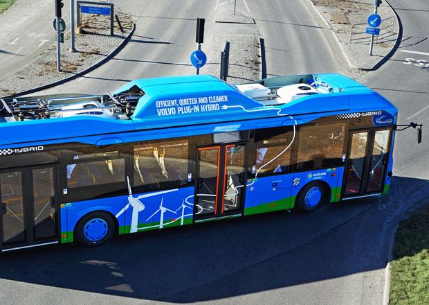 Plug-in hybrid Volvo Buses snižuje spotřebu paliva o 81 %
