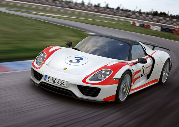 Porsche 918 Spyder zrychlilo, 0-300 km/h zvládne za 19,9 s