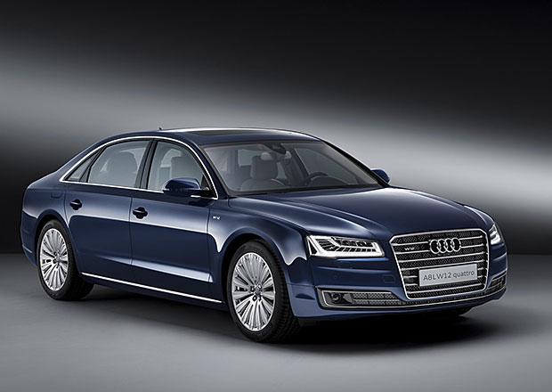 Audi A8 L W12 exclusive concept: Pro hrstku vyvolených