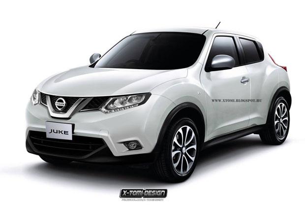 Nissan Juke: Takto facelift vypadat nebude