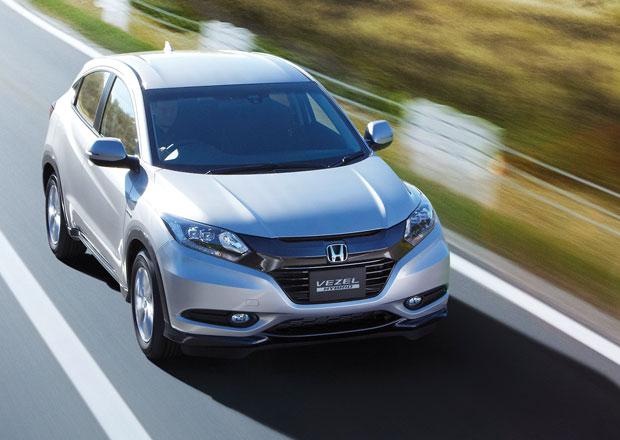 Honda Vezel ze všech úhlů (+ video)