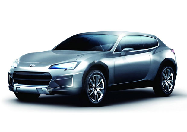 Subaru Cross Sport Concept: BRZ s batohem a v holínkách