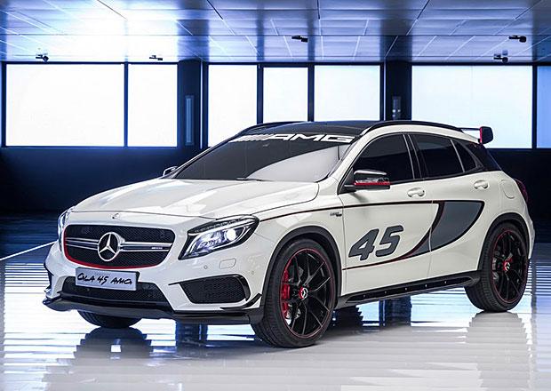 Mercedes-Benz GLA 45 AMG na oficiálních fotkách (+video)