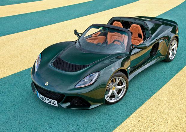 Lotus Exige S: Šestiválcová bestie nově také jako roadster
