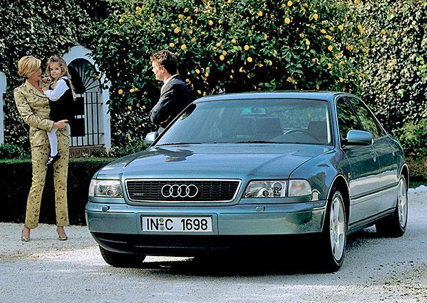 Audi A8: Design po generacích
