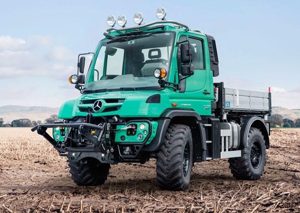 Mercedes-Benz Unimog nabízí široké možnosti využití
