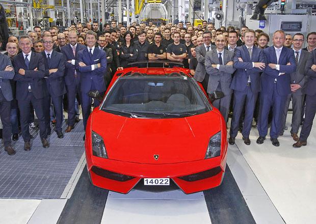 Lamborghini ukončilo výrobu modelu Gallardo