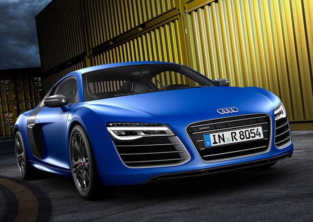 Audi R8: Příští generace zhubne díky uhlíkovým kompozitům až 60 kg