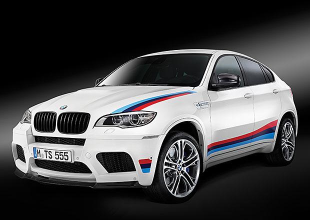 BMW X6 M Design Edition: Stovka aut s eMkovou trikolorou