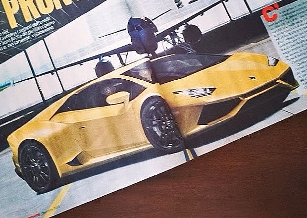 Lamborghini láká na nový model, zvukem motoru