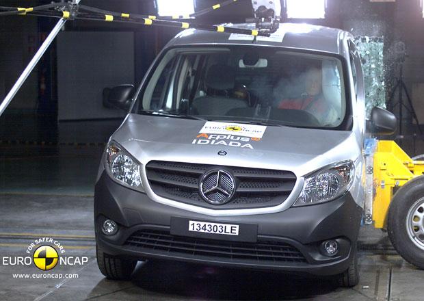 Euro NCAP 2013: Mercedes-Benz Citan Kombi – Zlepšení o jednu hvězdu