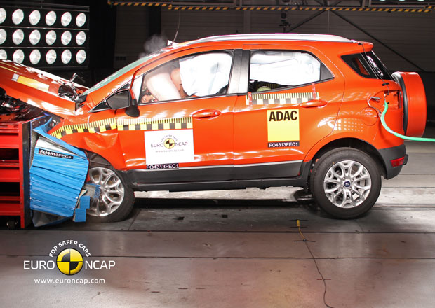 Euro NCAP 2013: Ford EcoSport – Jedna hvězda chybí