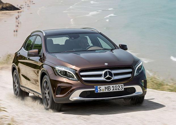 Mercedes-Benz GLA: V Česku oficiálně od 738.100 Kč, levnější verze přijdou později