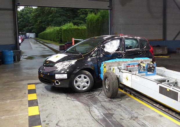 Euro NCAP 2013: Nissan Note – Chodci nedovolili zisk pěti hvězd