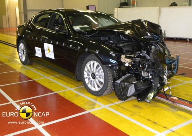 Euro NCAP 2013: Maserati Ghibli – Ochrání posádku i chodce