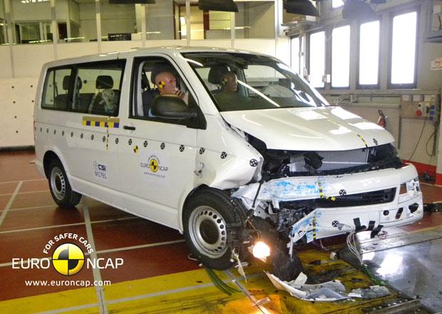 Euro NCAP 2013: Volkswagen T5 – Stále jen čtyři hvězdy