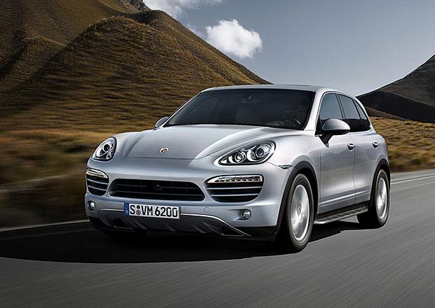 Porsche Cayenne musí do servisu kvůli vadnému palivoměru