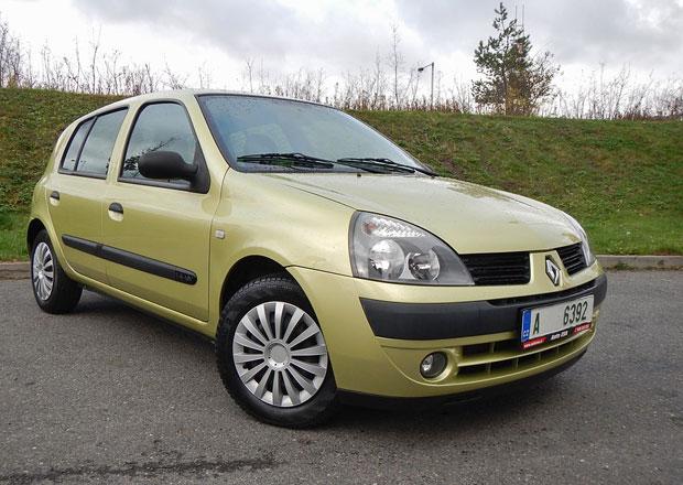 Ojetý Renault Clio 1.4 16V: Je libo automat?