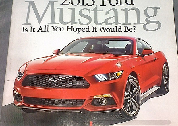 Ford Mustang 2015 vyzrazen, oficiálně se ukáže už dnes