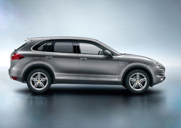 Porsche Cayenne Platinum: Šestiválcové SUV se stříbrnými doplňky