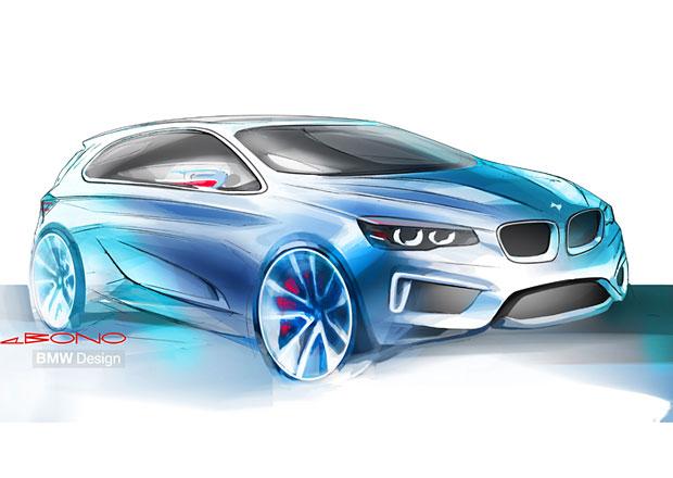 BMW Active Tourer s tříválcem a pohonem předních kol potvrzeno na autosalon v Ženevě