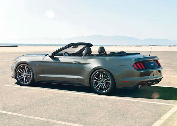 Ford Mustang 2015 má V8 i čtyřválcový EcoBoost (aktualizováno)