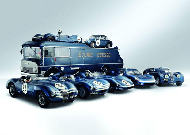 Historické Jaguary stáje Ecurie Ecosse vydraženy za 291 milionů korun