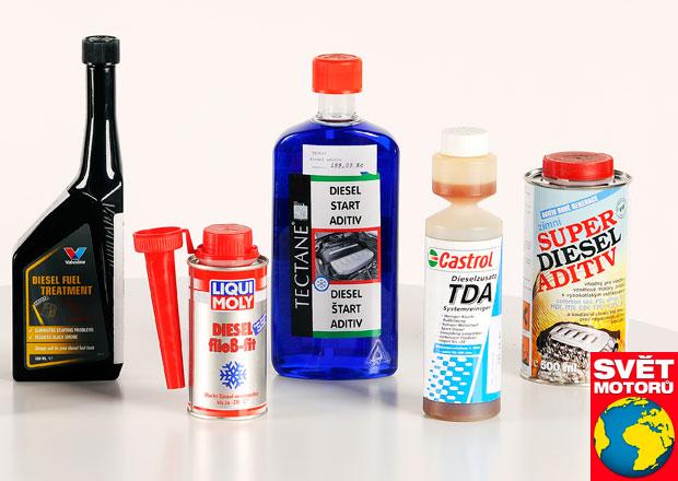 Test zimních aditiv do nafty: Dva výrobky totálně propadly