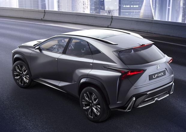 Lexus NX se proti konceptu téměř nezmění, lidé chtějí šokující design