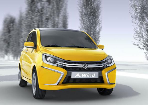 Suzuki Alto: V roce 2014 nové jméno a dramaticky odlišný design