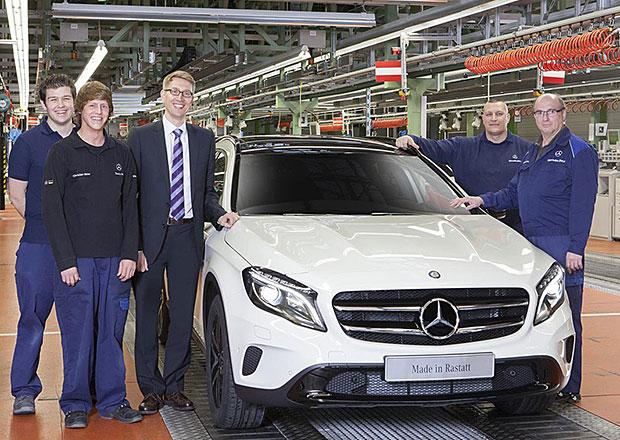 Mercedes-Benz GLA: Sériová výroba kompaktního SUV byla zahájena