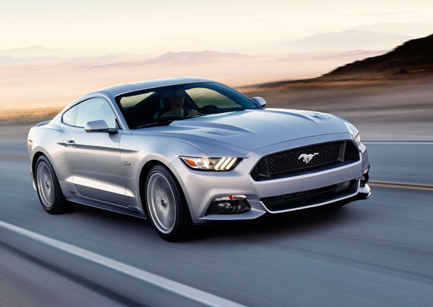 Ford Mustang v nových barvách