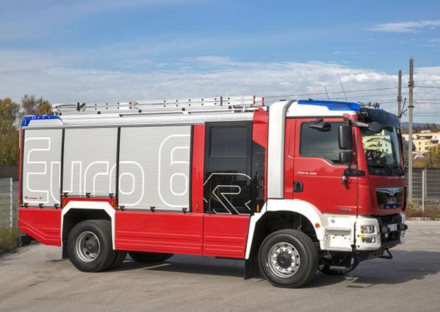 MAN představuje první hasičská vozidla Euro 6