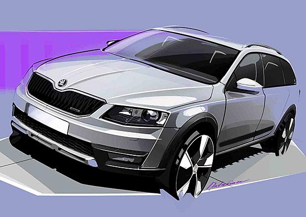 Nová Škoda Octavia Scout dorazí v příštím roce