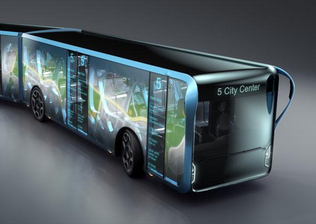 Willie Bus: Vize městského autobusu s velkoplošnými LCD panely