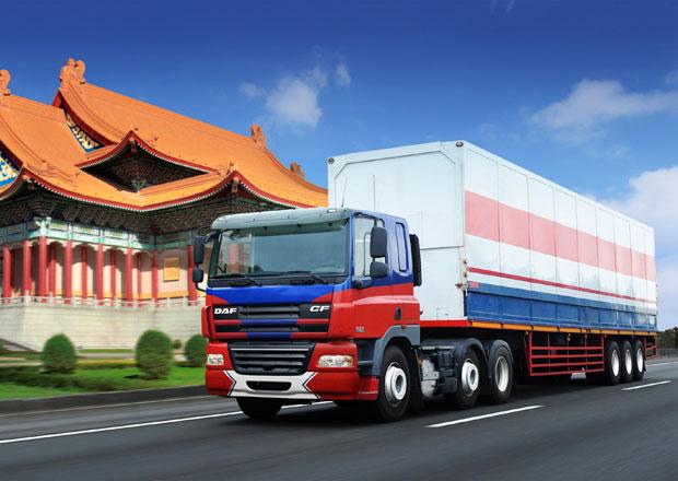 Na Tchaj-wanu smontováno již 2000 vozidel DAF CF