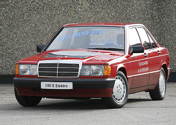 Mercedes W201/W202: Baby-Benz a prvn� C jezdily i na elekt�inu