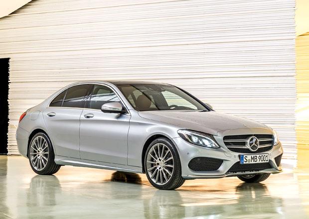 Mercedes-Benz třídy C v Česku stojí od 828.850 Kč
