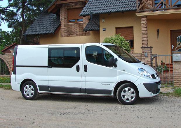 Test: Renault Trafic L2H1P2 Combi Van 2.0 DCI - Šest plus čtyři