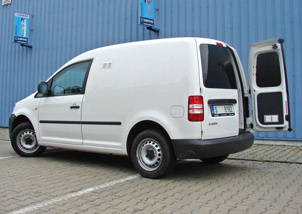 Bazar: Volkswagen Caddy 1.6 TDI - Plně vytížený