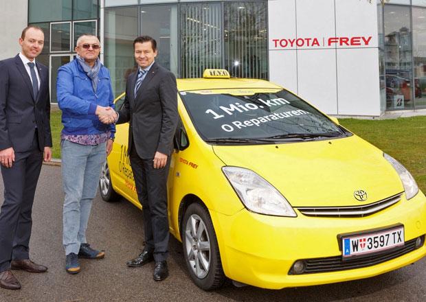 Toyota Prius: Vídeňský taxikář najel milion km bez závady