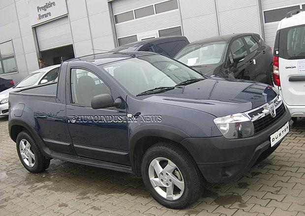 Dacia Duster Pick-up uveze a� 400 kg n�kladu