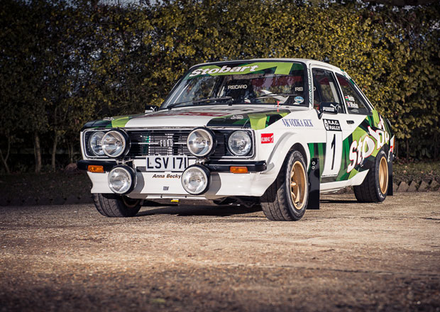 Ford Escort RS1800 Colina McRae p�jde do dra�by