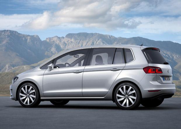 Volkswagen Golf Sportsvan v Německu stojí od 19.625 eur