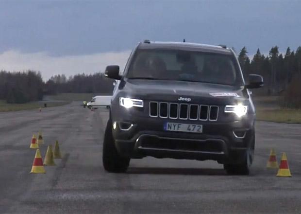 Video: Nový Jeep Grand Cherokee zvládl losí test na výbornou