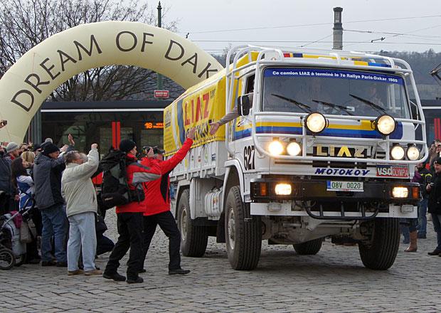 Rallye Dakar: Sen ožívá