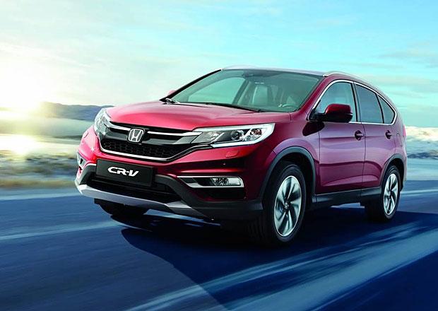 Honda CR-V: Modernizovaná čtvrtá generace se začne prodávat na jaře
