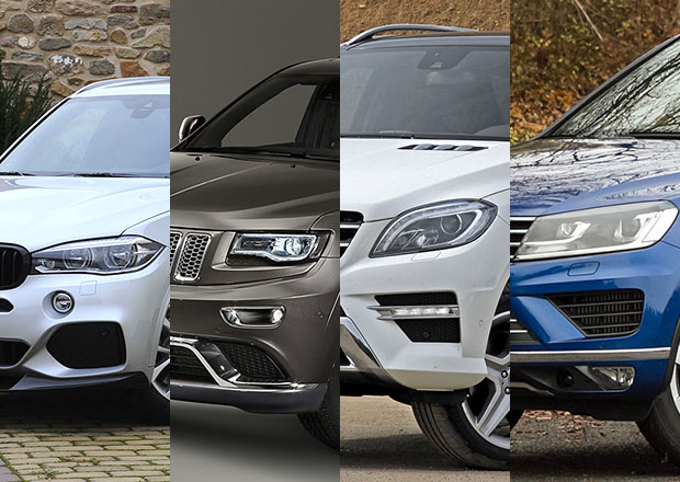 Volkswagen Touareg vs. konkurence: Co koupit?