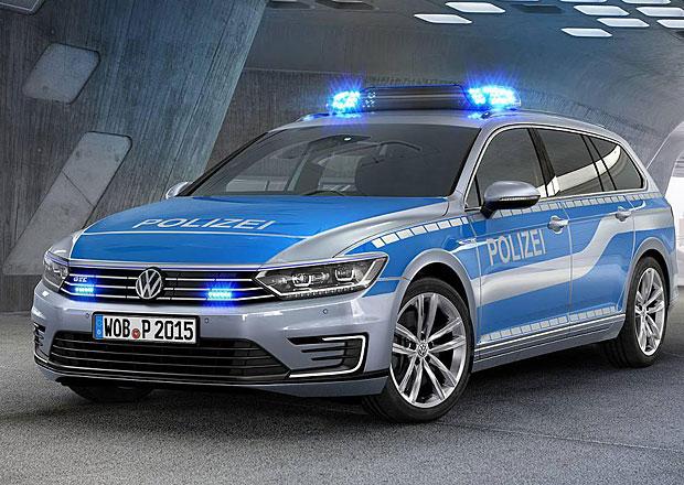 Volkswagen Passat GTE má policejní ambice